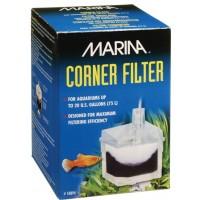 Marina Corner Filter With Airstone