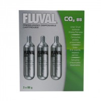 Fluval Pressurized Disposable CO2 Cartridges - (3 x 88 g)  (A7547)
