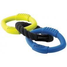 Nerf Dog Three Ring Tug, 15-inch (VP6732E)