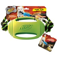 NERF Rubber Tough Tug  - Green (VP6735E)