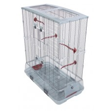 Vision Bird Cage for large birds (L02)- Double height, Small wire