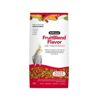 ZuPreem Bird Food, FruitBlend® Flavor with Natural Flavors Medium Birds, 200-gms