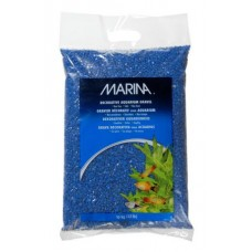 Marina Blue Decorative Aquarium Gravel, 10 kg (22 lbs)