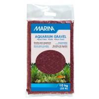 Marina Burgundy Decorative Aquarium Gravel - 10 kg (22 lbs)