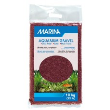 Marina Burgundy Decorative Aquarium Gravel - 10 kg (22 lbs)