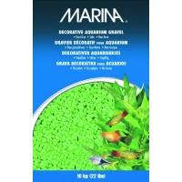 Marina Decorative Aquarium Gravel, 10 Kg, Lime