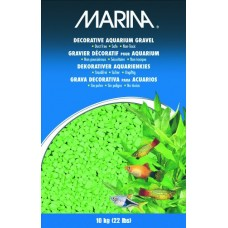 Marina Decorative Aquarium Gravel, 10 Kg, Lime
