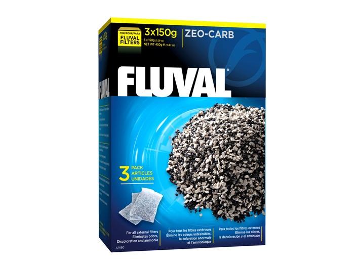 Fluval Zeo-Carb 450 Gram 3x150g
