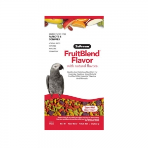 Zupreem FruitBlend Bird Food for Parrots and Conures 200 GMS