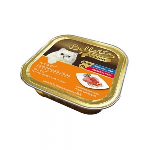 Bellota Cat Tray Tuna in Gravy Toping Crab Meat 80Gm
