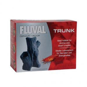 Fluval Trunk For Shrimp and Dwarf Crayfish - 13.5 x 5 x 6 cm (5.3 x 2 x 2.35 in)