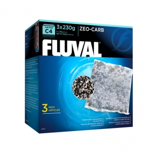 Fluval C4 Zeo-Carb - 3-pack