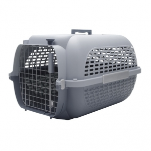Catit Voyageur Cat Carrier - Gray/Gray - Small (48.3 cm L x 32.6 cm W x 28 cm H / 19 in x 12.8 in x 11 in)